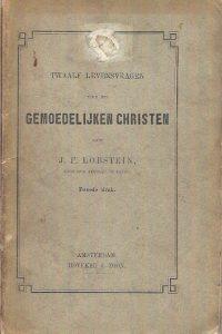 Twaalf levensvragen voor den gemoedelijken christen J.F. Lobstein