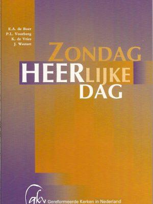 Zondag heerlijke dag E.A. de Boer 9055603015