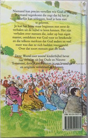 Woord voor woord-Kinderbijbel-Karel Eykman-902540457X-9789025404574_B