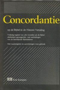 Concordantie op de Bijbel in de nieuwe vertaling van het Nederlands Bijbelgenootschap Complete editie 3e druk 1992