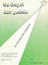 De Oogst der Aarde-de opname der gemeente-A. Luijben