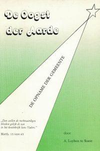 De Oogst der Aarde de opname der gemeente A. Luijben