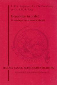 Economie in orde grondslagen van economisch beleid