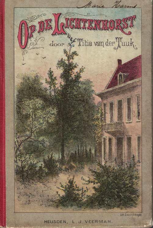 Op de Lichtenhorst Titia van der Tuuk