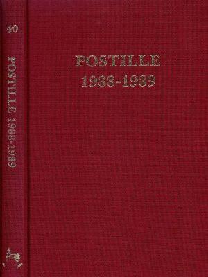 Postille 1988 1989 Nummer 40