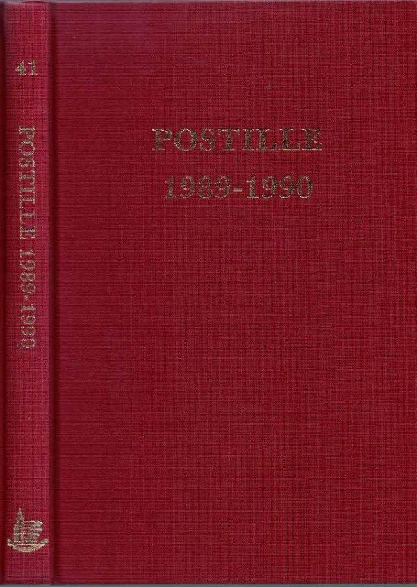 Postille 1989 1990 Nummer 41