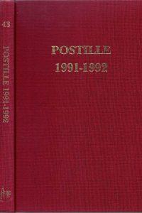 Postille 1991 1992 Nummer 43
