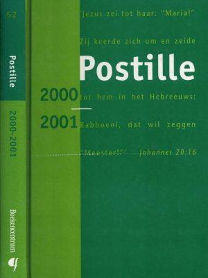 Postille 2000 2001 Nummer 52