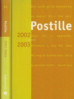 Postille 2002 2003 Nummer 54