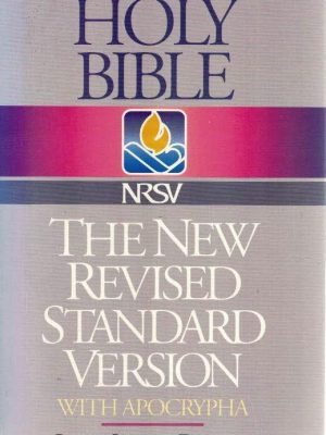 Bible The New Revised Standard Version With Apocrypha Nelsonword Pub