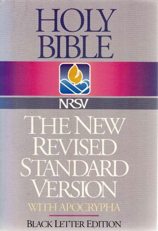 new revised standard version bible.epub