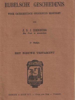 Bijbelsche geschiedenis voor catechetisch onderwijs bewerkt