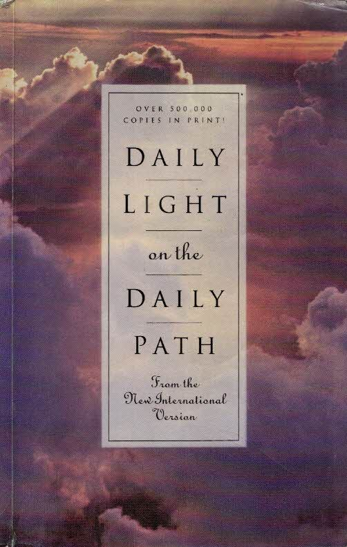 Daily Light On The Daily Path From The New International Version Zondervan