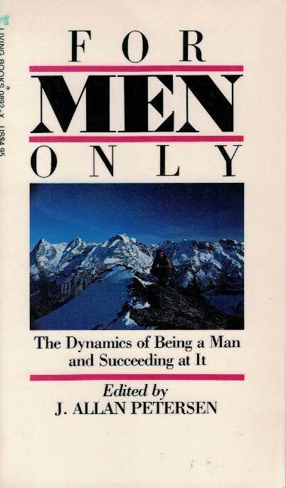 For men only-J. Allan Petersen-084230892X