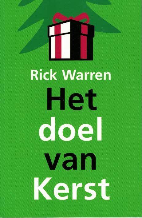 Het doel van Kerst-Rick Warren-9789063535704