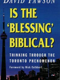 Is the blessing Biblical-David Pawson-034066147X