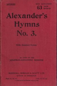 Alexander's hymns. No. 3-with standard hymns -as used in the Chapman-Alexander Mission-including supplemental hymns
