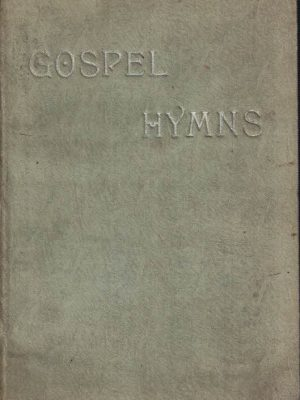 Gospel hymns no. 5 with standard selections (234 hymns 1890)