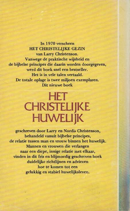 Het christelijke huwelijk een handboek voor gelukkig
