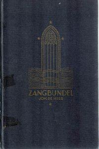 Zangbundel Joh. De Heer -22e uitgave (226 - 235 duizend) (matig)