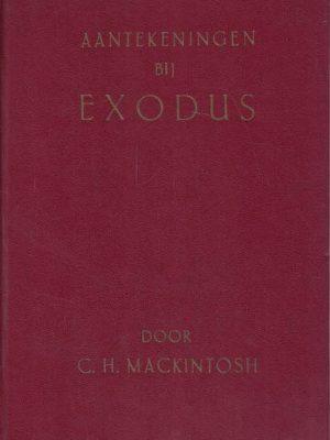 Aantekeningen Bij Exodus-C.H. Mackintosh-rood kunstleer