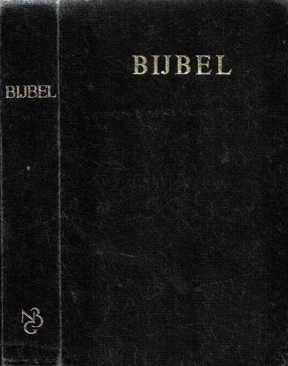 Bijbel editie 1977-Statenvertaling-9061260086(zwarte hardcover)