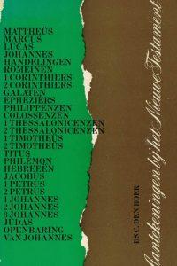 Aantekeningen bij het Nieuwe Testament-Deel 1-ds. C. den Boer