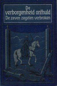 De verborgenheid onthuld of De zeven zegelen verbroken-L.R. Conradi (blauw)