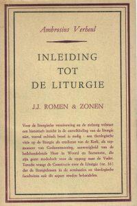 Inleiding tot de liturgie-haar theologische achtergrond-Ambrosius Verheul