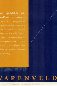 Wapenveld jaargang 53 nummer 1 februari 2003-Bijna goddelijk gemaakt
