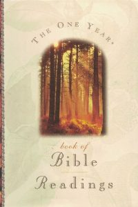 The One Year book of Bible Readings-084235414X-9780842354141