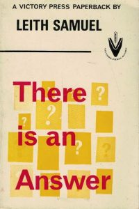 There is an answer-Leith Samuel