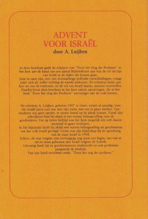 Advent voor Israël en Het herstel van Israël-a-luijben-9064232008_b