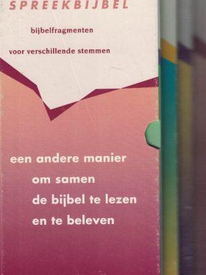 Spreekbijbel-compleet-6 boekjes van de Spreekbijbel-NBG-9789061268987