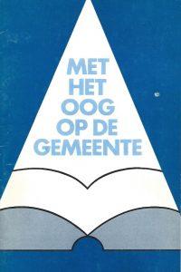 Met het oog op de gemeente-Dr. A. Noordergraaf