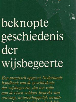 Beknopte geschiedenis der wijsbegeerte-Bernard Delfgaauw-9029306017-9e druk