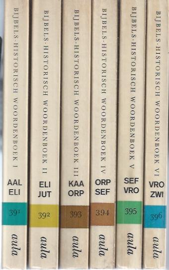 Bijbels-Historisch woordenboek-Aula-boeken, 391-396