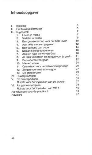 Elkaar de rechterhand geven-K.H.W. Klaassens-9052630526_Inhoud