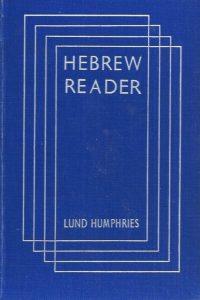 Hebrew (Reader)-Chaim Rabin-Lund Humphries 1949