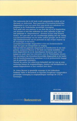 Pastorale diagnostiek-modellen en mogelijkheden-Johan Bouwer-9023900553-9789023900559_B