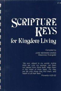 Scripture Keys for Kingdom Living-June Newman Davis-0965023982-1998