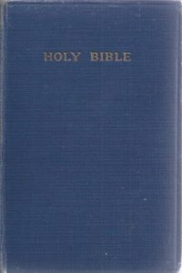 THE HOLY BIBLE containing The OLD and NEW Testaments-KJV-University Press 1954-blue