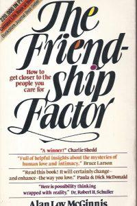 The Friendship Factor-Alan Loy McGinnis-80661711X