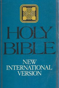 The Holy Bible, new International version-0340237104