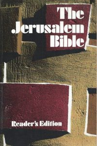 The Jerusalem Bible, Reader's Edition-0385011563-1st edition 1968