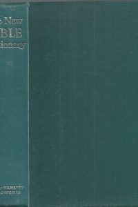 The New BIBLE Dictionary inter-varsity fellowship-1978-1962