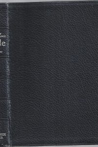 The New CHAIN-REFERENCE BIBLE- Fourth Improved Edition-Thompson-57th reprint 1964-Black leather