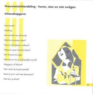Vrouwenmishandeling, horen, zien en niet zwijgen-Blijf van m'n lijf_Inhoud