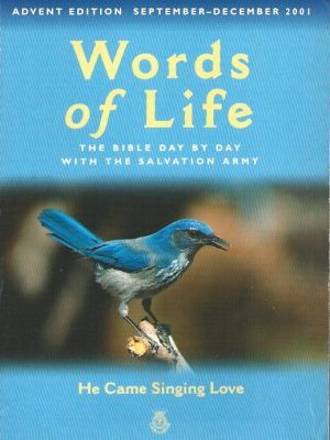Words of life, Sep-Dec 2001-He came singing love-Salvation Army-0340757019-9780340757017