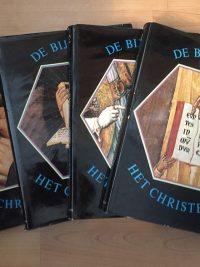De Bijbel en het Christendom-kerngedachten uit 20 eeuwen christelijke traditie-4 delig-cover